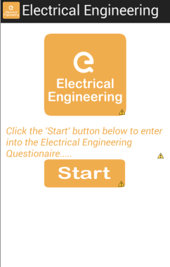Electrical Engineering MCQ App screenshot 1