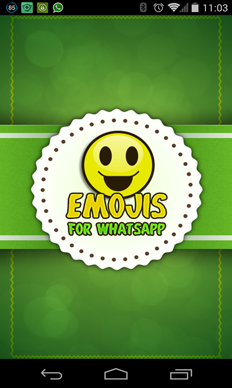 Emoji Emoticons for WhatsApp screenshot 1