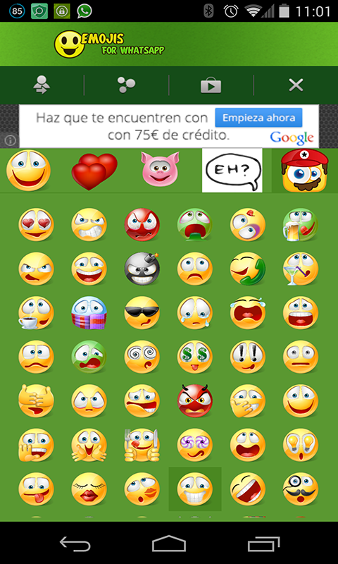 Emoji Emoticons for WhatsApp screenshot 2