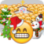 Download Emoji War Christmas for Android phone