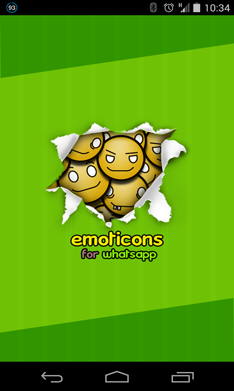 Emoticons Sharing screenshot 1