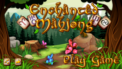 Enchanted Mahjong screenshot 2