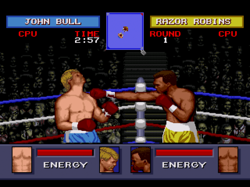 Evander Holyfields Real Deal Boxing screenshot 1
