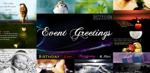 Event Greetings screenshot 2
