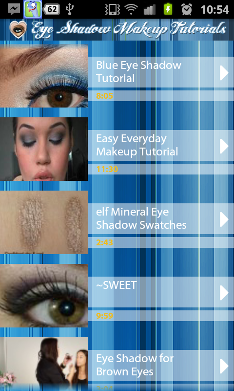 Makeup tutorial app