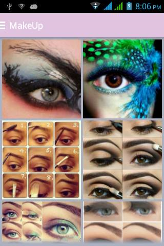 Ezee Eye Makeup Step By Step for Android - Download