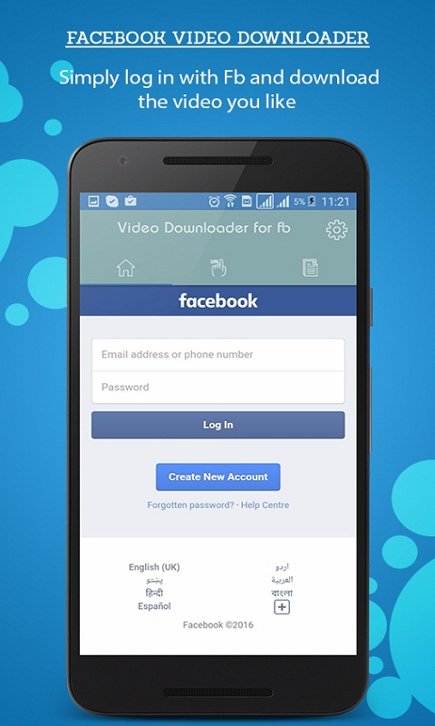 app facebook download android