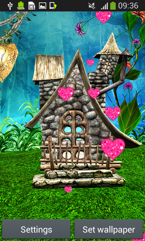Fairy tale live wallpapers android app free apk by sparrow studio games - Fairy wallpaper for android ...