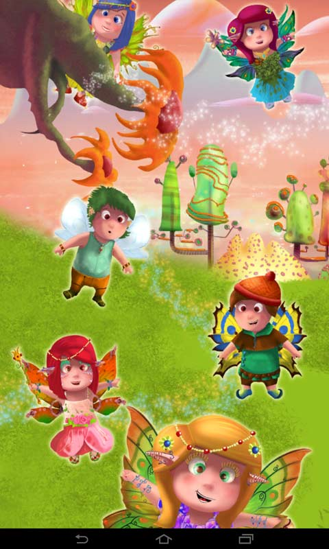 Fairy Tale Puzzles for Kids screenshot 1