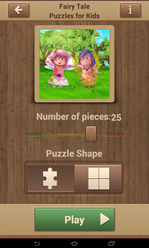 Fairy Tale Puzzles for Kids screenshot 2