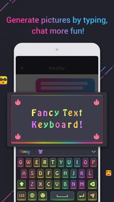 Fancy Text Keyboard screenshot 1