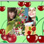 Fantastic Cherry Photo Collage