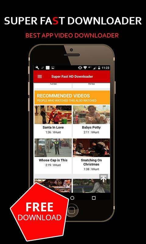 Free Video Downloader HD screenshot 2