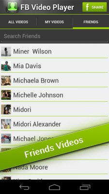 FB Video Player screenshot 2