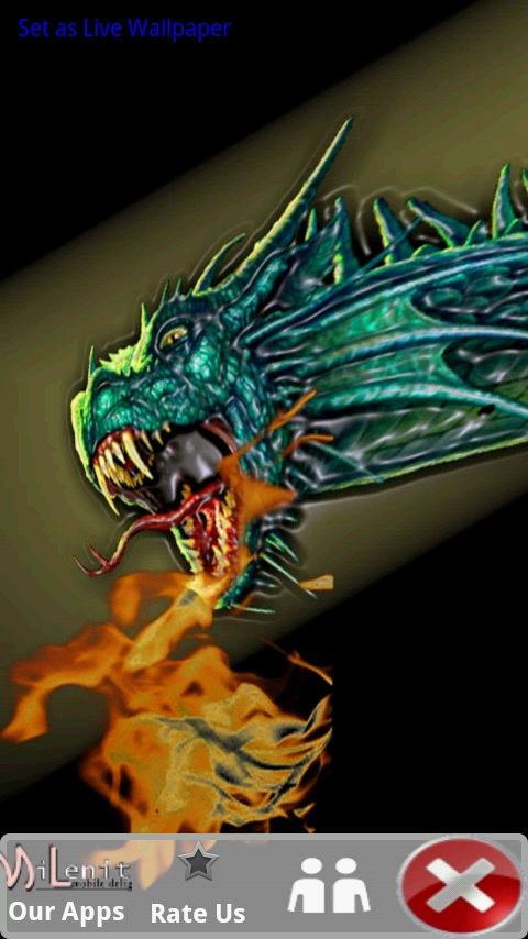 Download Fire Breathing Dragon Free Live Wallpaper