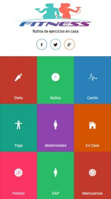 Fitness Femenino screenshot 1