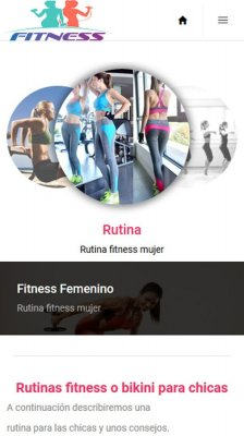 Fitness Femenino screenshot 2