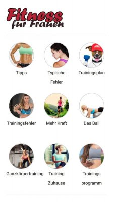Fitness fur Frauen screenshot 1