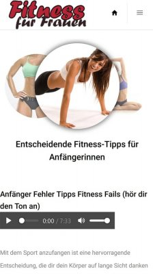 Fitness fur Frauen screenshot 2