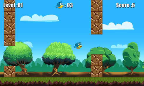 Flap Go Bird screenshot 2