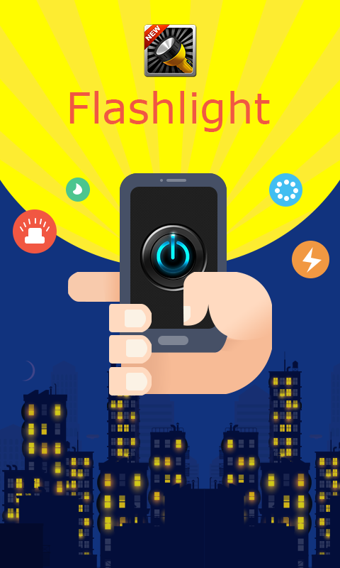 Flashlight HD screenshot 1