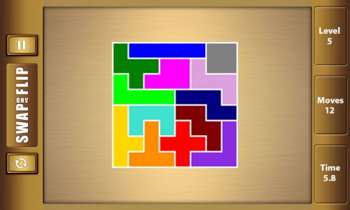 Flip and Swap -Jigsaw Puzzle Game screenshot 2