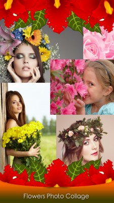 Flowers Photo Collage screenshot 1
