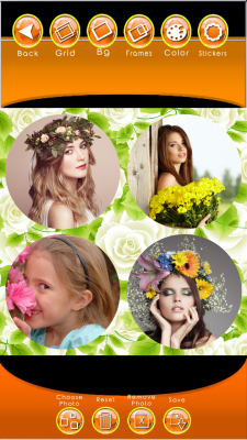 Flowers Photo Collage screenshot 2