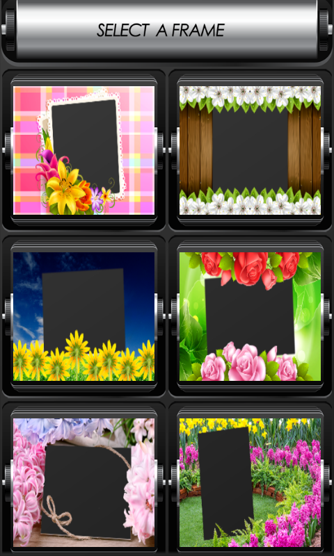 Flowers Photo Frames Free free APK android app - Android Freeware