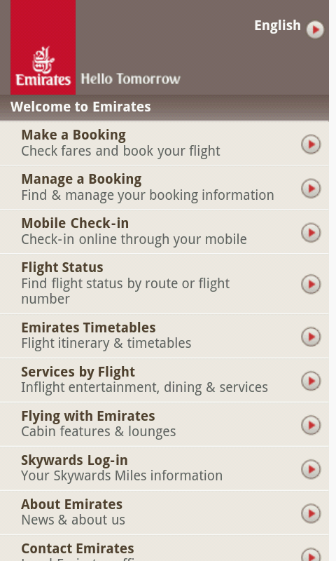 When you fly with Emirates, you can edit and manage all your travel needs online with just a few clicks. Our management tool is easy and secure - just have your booking reference and your last name ready to .