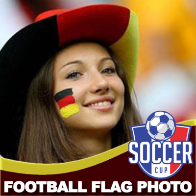Image of Football World Cup Flag Frames Photo Maker 2018