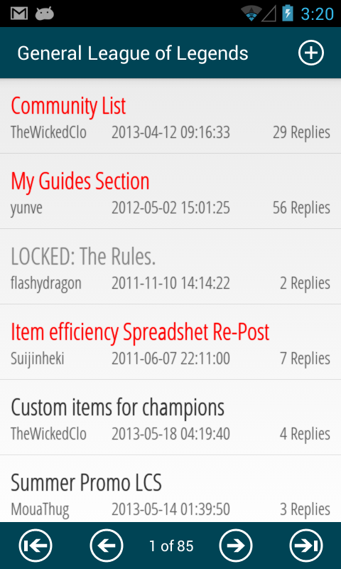 Forums For League Of Legends Free Android App Android