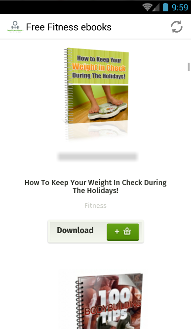 free fitness ebooks free app download   android freeware