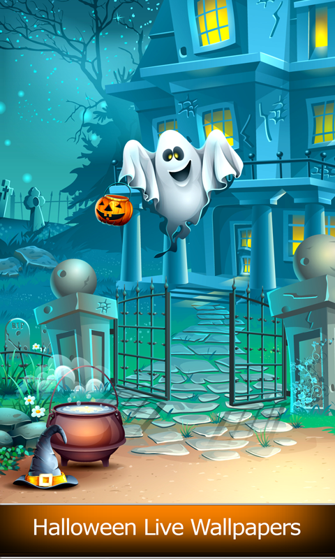 free halloween live wallpapers free app download android