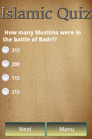 Free Islamic Quiz for Android - Download
