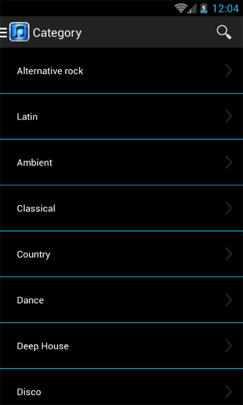 music download for android tablet