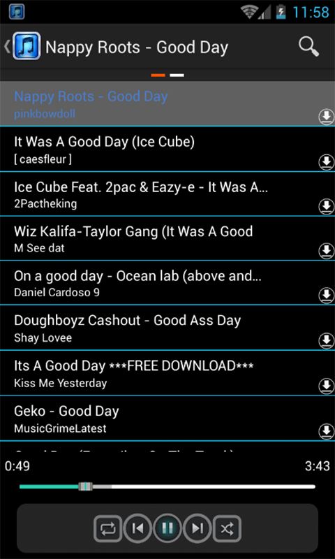 music download for android free