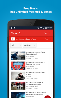 youtube mp3 downloader apk