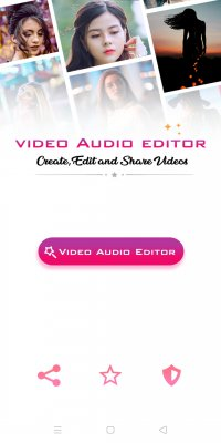 Free Video Audio Editor screenshot 1
