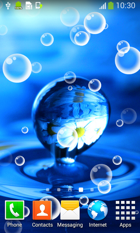 Free Water Drops Live Wallpapers Download For Android