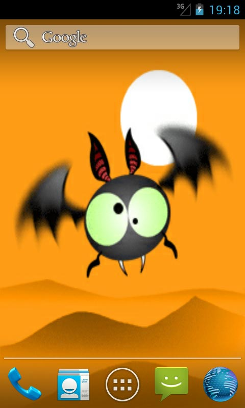 funny bat live wallpapers free app download android freeware