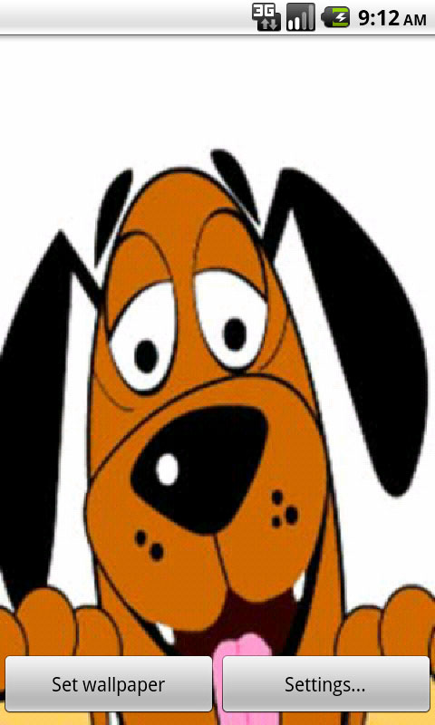 Download Funny Dog Live Wallpapers
