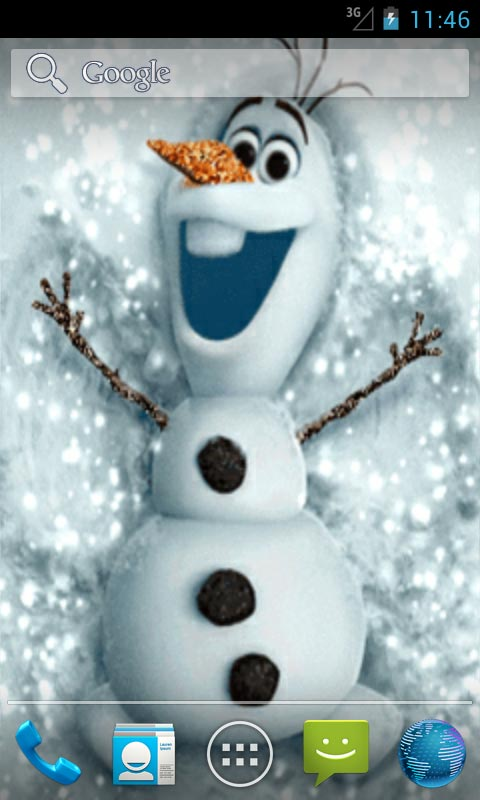 funny snowman live wallpapers free app download android