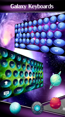 Galaxy Keyboards screenshot 1