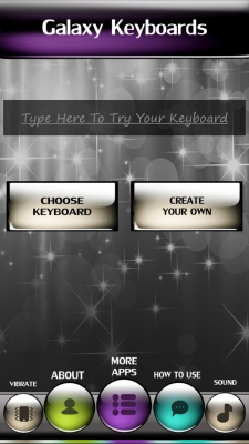 Galaxy Keyboards screenshot 2