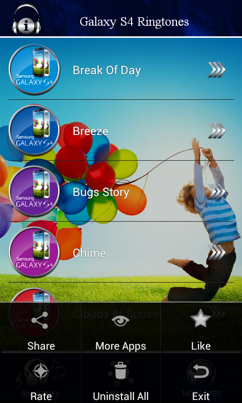 free download ringtone for samsung galaxy s4
