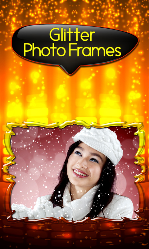 glitter photo frames top free apk android app