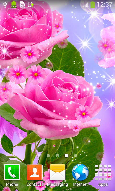 Glow Flower Live Wallpapers Free Apk Android App Android