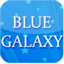 Download GO Keyboard Blue Galaxy theme for Android Phone