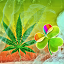 Image of GO Launcher Ganja Weed Theme
